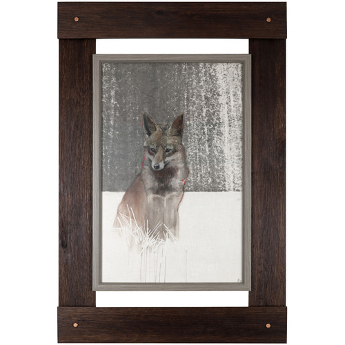 Hobbitholeco. 46'' H x 30.25'' W Ready to Hang  'Fox' by Daniel St Amant, Wildlife Fresco Craft Wall Art