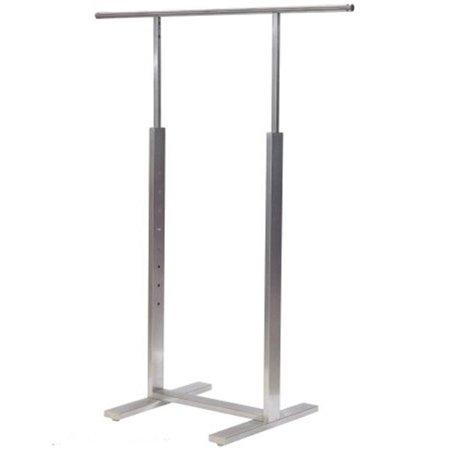 """Bauhaus Series"" Single Bar Merchandiser - Satin Chrome Finish,Pack Size - 1 - image 1 de 1"