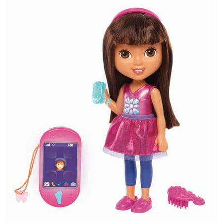 White Gold Dora (Fisher-Price Nickelodeon Dora & Friends Talking Dora &)