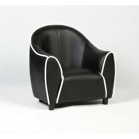 Costway Kids Sofa Armrest Chair Couch Children Living Room Toddler Furniture Black