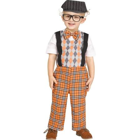 Lil Grampy Boys Toddler Old Man Grandpa Halloween Costume - Grandpa Costume