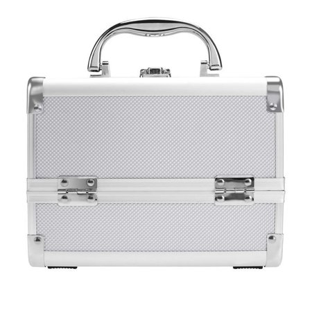 Durable Makeup Travel Case Jewelry Box Lockable Cosmetic Organizer Holder Cosmetic  Bag - Walmart.com 623f9710781f7