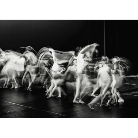LAMINATED POSTER People Theater Dance Slow Motion Movement Poster Print 24 x - Theatre Movement