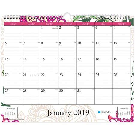 Blue Sky Bls101716 Dahlia Wall Calendar 1 Each Multi