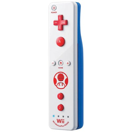 Wii Accessories Free Shipping (Nintendo 102147 Wii/Wii U Toad Edition Wii Remote)