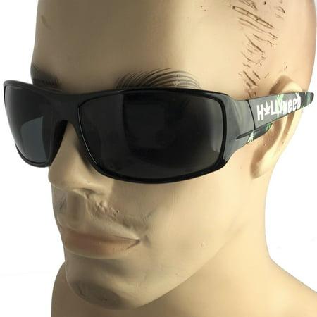 Marijuana Hollyweed Hollywood OG Gangster Locs Weed Sunglasses Hardcore Shades
