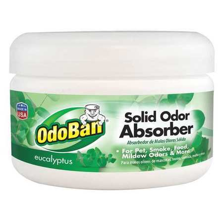 Odoban 973562-8Z12 8oz Solid Odor Absorber - Pack of 12