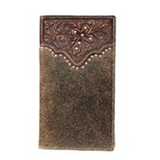 Ariat A3513602 Side Cross Rodeo Wallet, Brown - One Size
