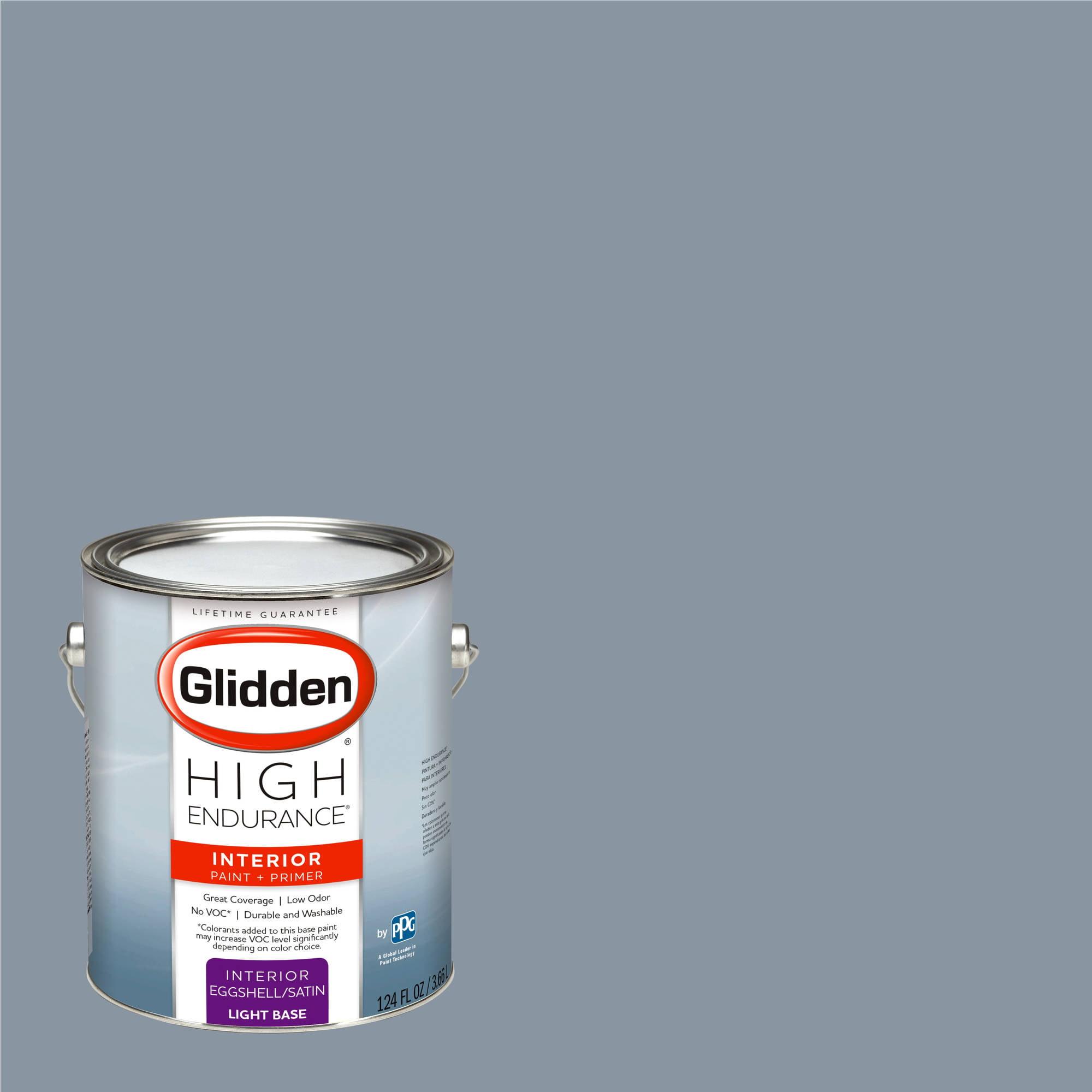 Glidden Smoky Charcoal glidden high endurance, interior paint and primer, smoke