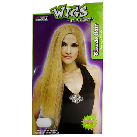 Paper Magic Group Women Blonde Hair Wig Costume Accessory