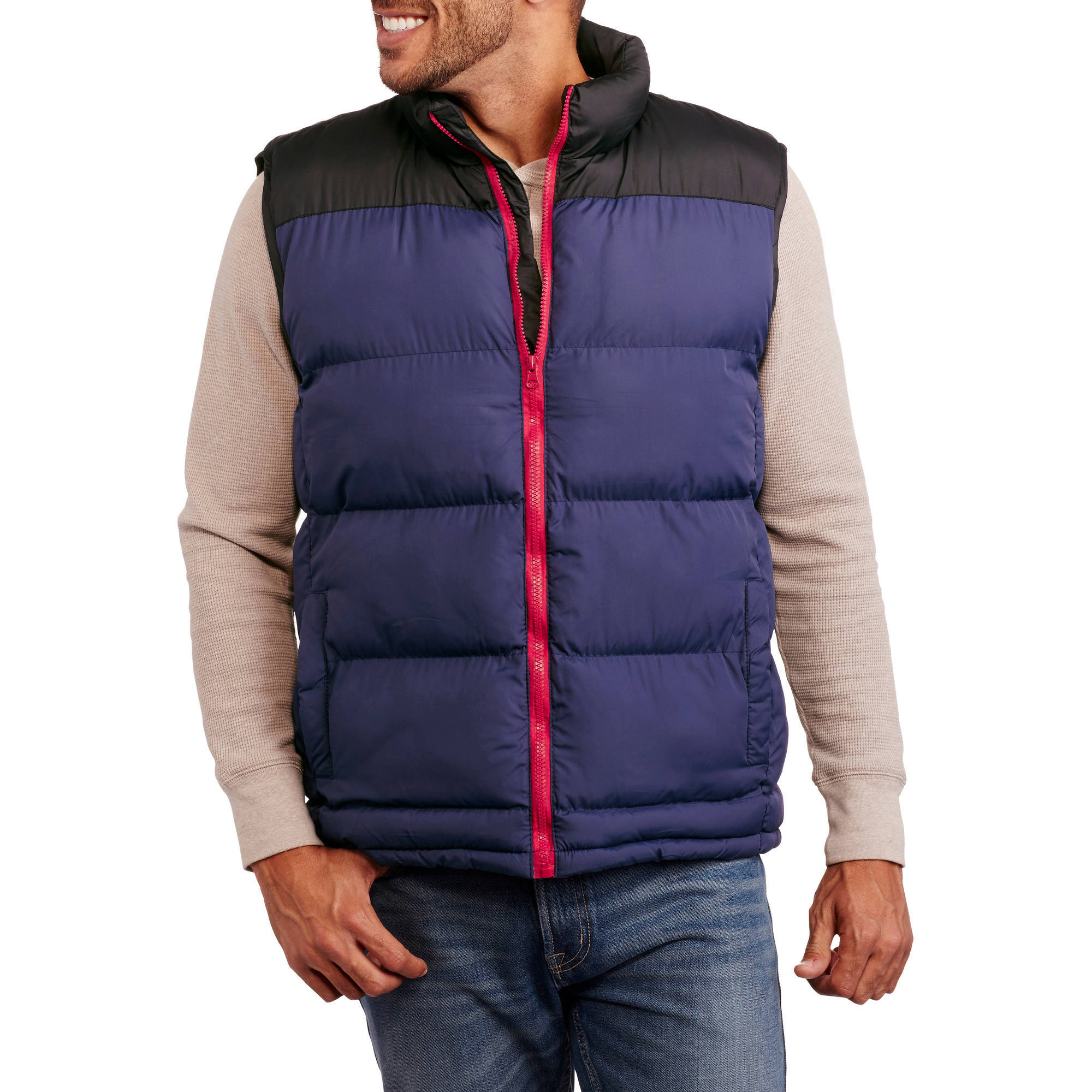 Climate Concepts Men's Colorblock Vest