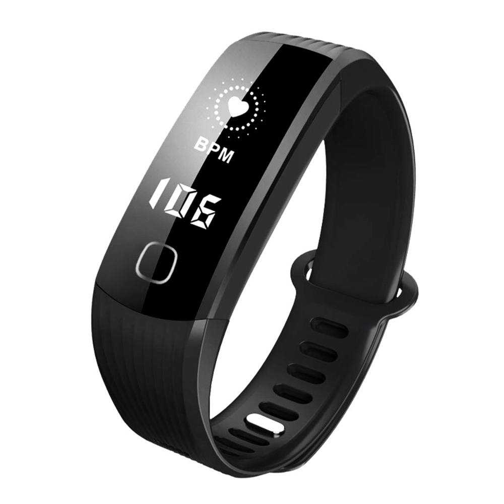 Smart Bracelet Heart Rate Monitor Fitness Tracker Life Waterproof Sports Wrist Band Watch for Android and IOS