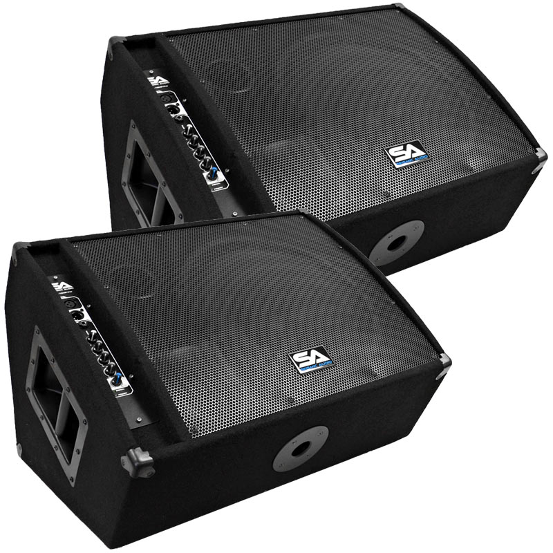 Audio-Technica Seismic Audio Pair of Premium Powered 2-Wa...
