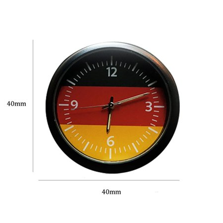 VENSE Car Cute Clock Watch Thermometer Air Outlet Vent Clip Perfume for All Vehicles - image 4 of 6