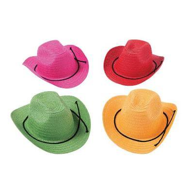 IN-13768287 Kids' Colorful Cowboy Hats Per Dozen - Cowboy Hats Kids