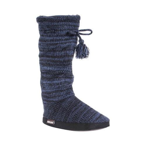 MUK LUKS Tall Grace Tie Slipper Boot (Women's)