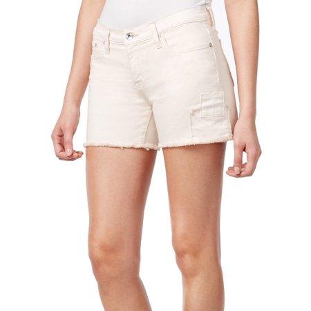 Patrick Star Shorts (Big Star NEW Pink Seashell Womens Size 27 Mid-Rise Stretch Denim)