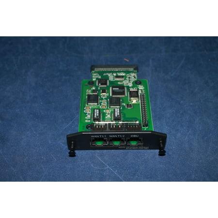 Image of 1202872L1 Adtran NetVanta 3000 dual T1 network interface module 2nd T1