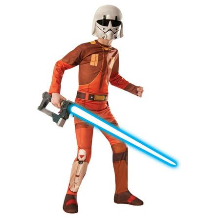 Kids Movie Star Costume (Star Wars Ezra Bridger Kids Costume)