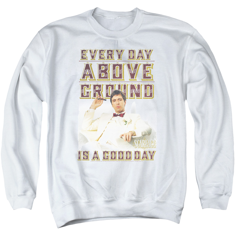Scarface Above Ground Mens Crewneck Sweatshirt