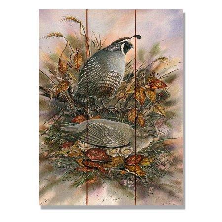 Daydream Bartholets Late Clutch Indoor / Outdoor Cedar Panel Wall Art ()