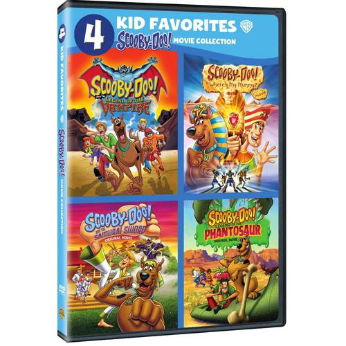 Four Kid Favorites: Scooby-Doo Movie Collection - Legend Of The Vampire/Where's My Mummy?/The Samurai Sword/Legends Of The Phantosaur (Widescreen)