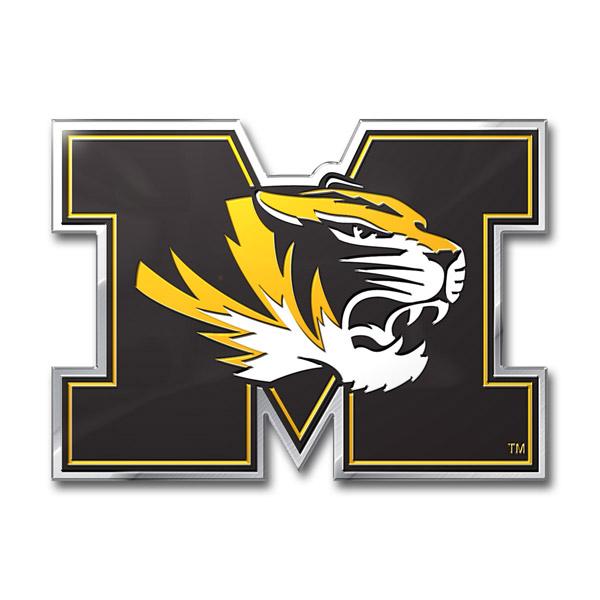 Missouri Tigers Color Auto Emblem - Die Cut