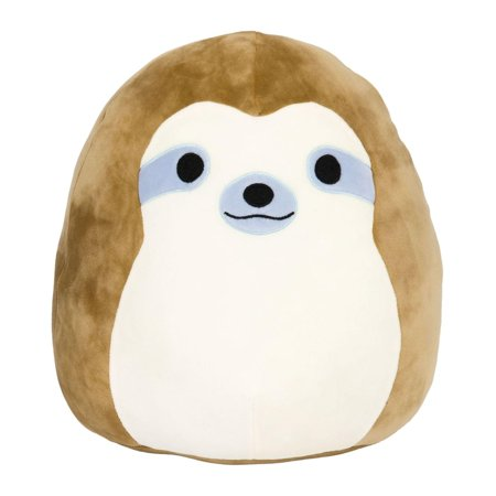 Squishmallow 16 Inch Pillow Pet Plush - Brown Sloth](Sloth For Sale)