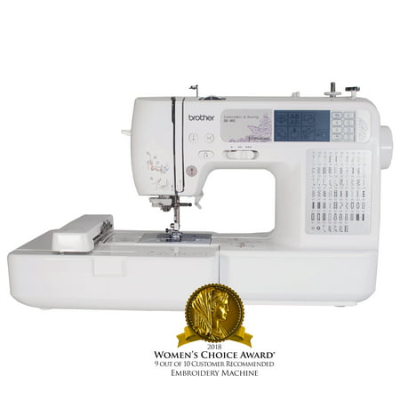Brother SE40 Computerized Sewing And Embroidery Machine Walmart Cool Inexpensive Sewing Machines For Sale