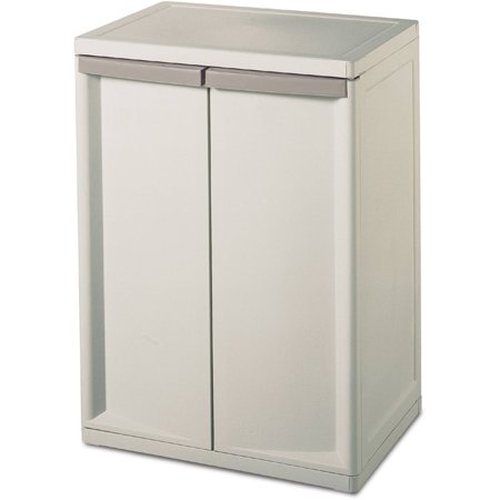 Sterilite 2-Shelf Storage Cabinet