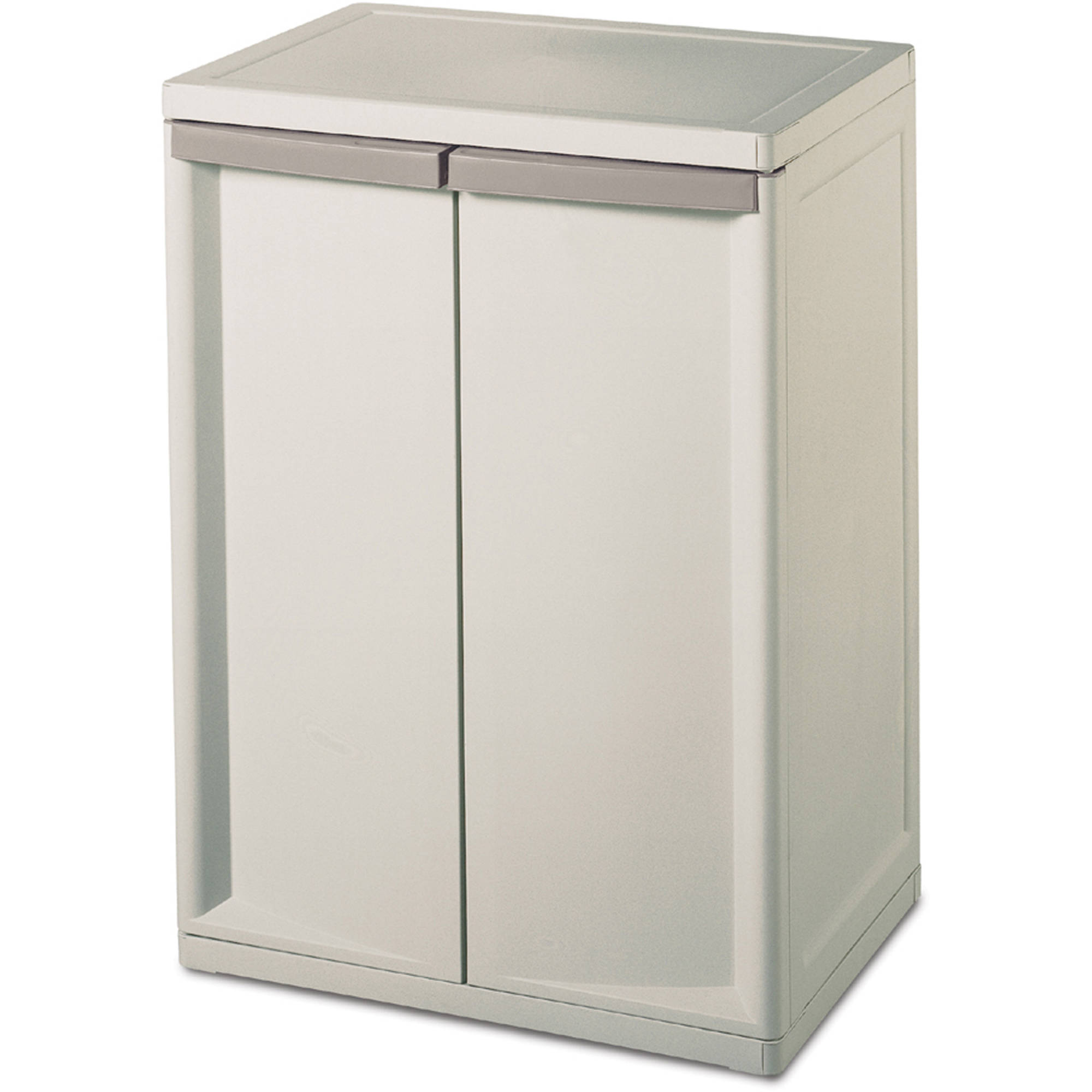 sterilite 2shelf storage cabinet