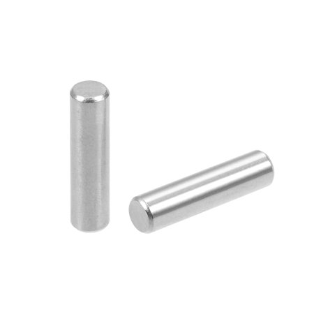 50Pcs 4mm x 16mm Dowel Pin 304 Stainless Steel Shelf Support Pin Silver Tone - image 2 of 2
