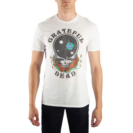 Men's Grateful Dead Space Your Face Graphic T-Shirt, Up To Size 2Xl - Grateful Dead Halloween T Shirt