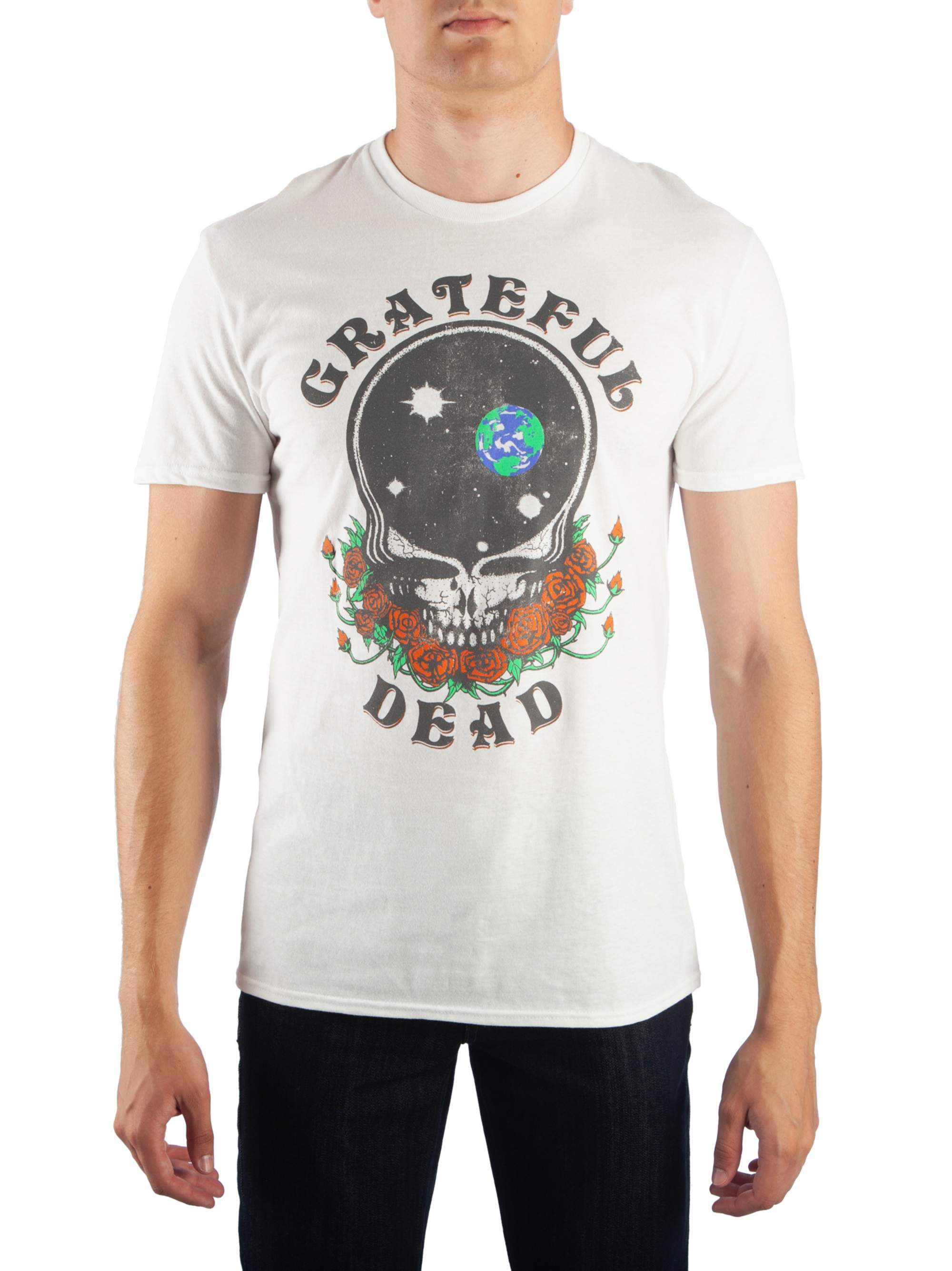 Men's Grateful Dead Space Your Face Graphic T-Shirt, Up To Size 2Xl