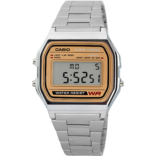 Casio Men's Classic Digital Watch, Stainless Steel