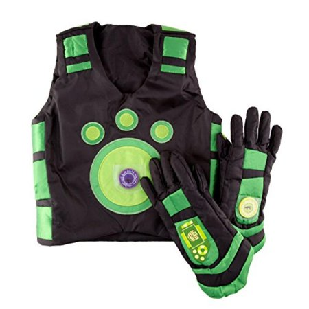 Wild Kratt Costume (Wild Kratts Creature Power Suit (Chris) - Large, Ages 6-8)