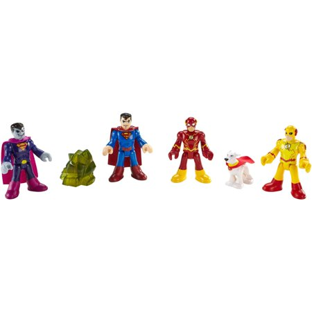 Imaginext DC Super Friends Heros and Villains (Super Villain Outfits)