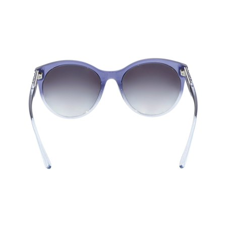 493317eac7ac Burberry Women's Gradient BE4236-35998G-56 Blue Round Sunglasses - image 1  ...