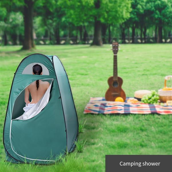 """SANON Changing Room Privacy Tent Lightweight and Sturdy Outdoor Shower Shelter Beach Toilet for Camping and Beach /â/€/"""" Easy Set Up Foldable with Carry Bag"""