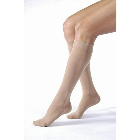 a06e01bb9c Jobst Relief 20-30 Closed Toe Knee High Compression Stockings, Beige, Small  - Walmart.com