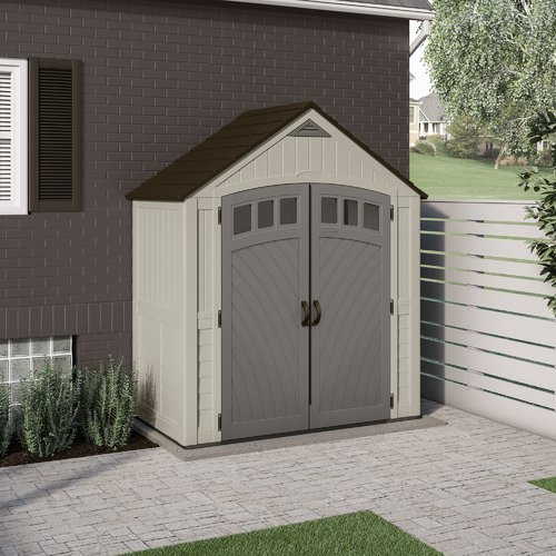 Suncast 7 x 4 Covington Storage Shed