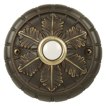 - Craftmade Surface Mount Lighted Medallion Doorbell