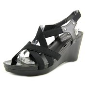 Lauren Ralph Lauren Rikki Women US 6.5 Black Wedge Heel