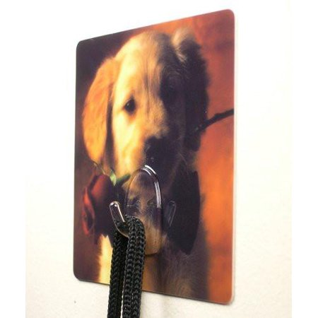 Locker Decoration (Puppy Dog Utility Hook for Bedroom Bathroom Kitchen Back to School Locker Wall Decoration Hang Leash (Pack of)