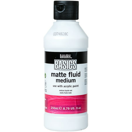 - Liquitex BASICS Matte Fluid Medium 250ml
