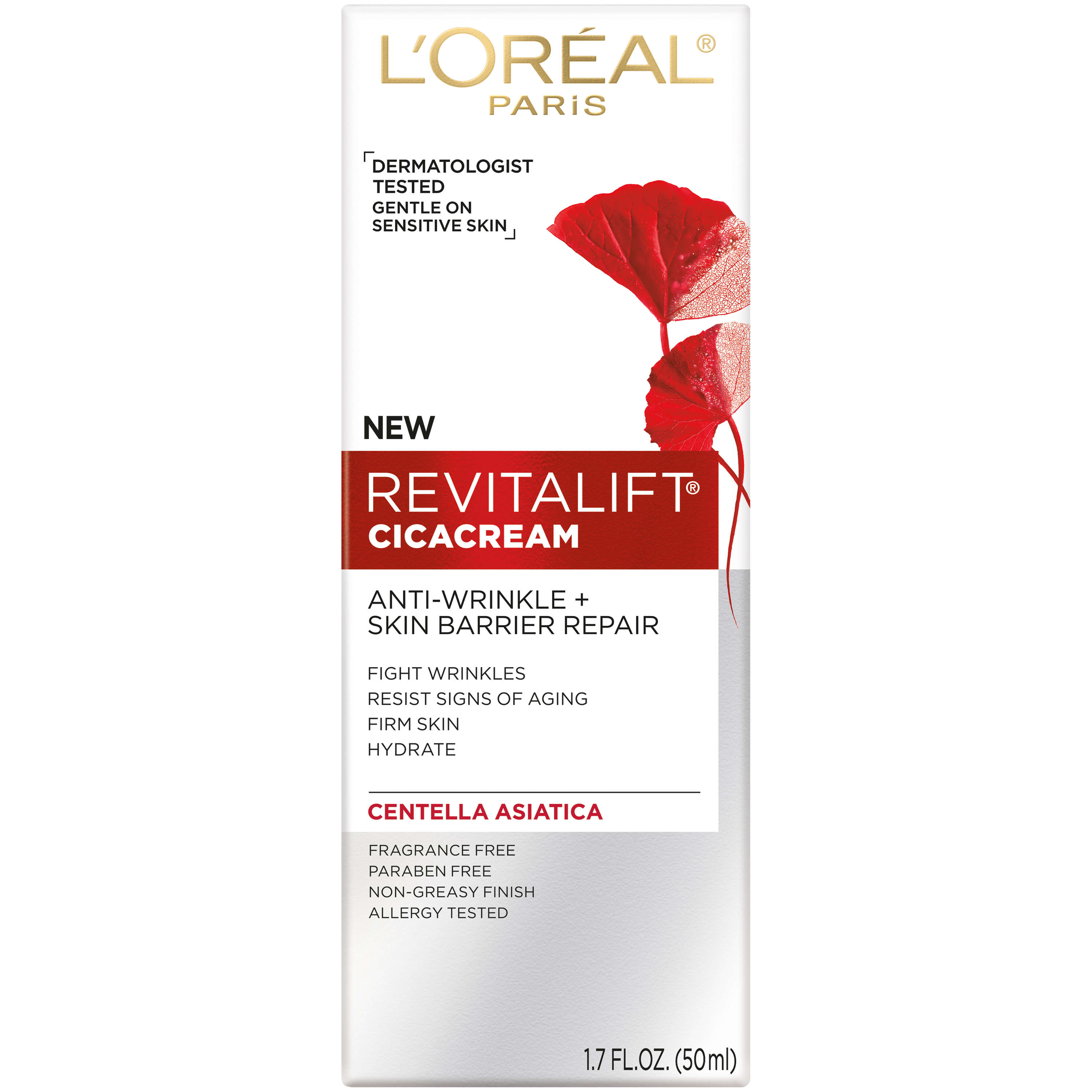L'Oreal Paris Revitalift Cicacream Anti-Wrinkle + Skin Barrier Repair