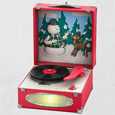 Hallmark Keepsake 2018 Rudolph the Red-Nosed Reindeer® Record Player Musical Ornament With Light