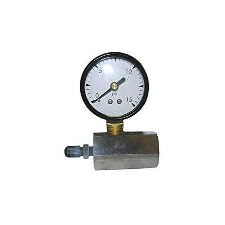 LARSEN SUPPLY CO. INC. 13-1891 15PSI Gas Test