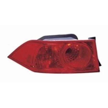 Go Parts 2006 2008 Acura Tsx Rear Tail Light Lamp Embly Lens Cover Left Driver 33506seca51 Ac2818109 Replacement For