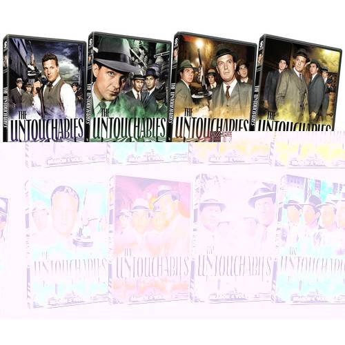 The Untouchables: Complete Series Pack (Full Frame)